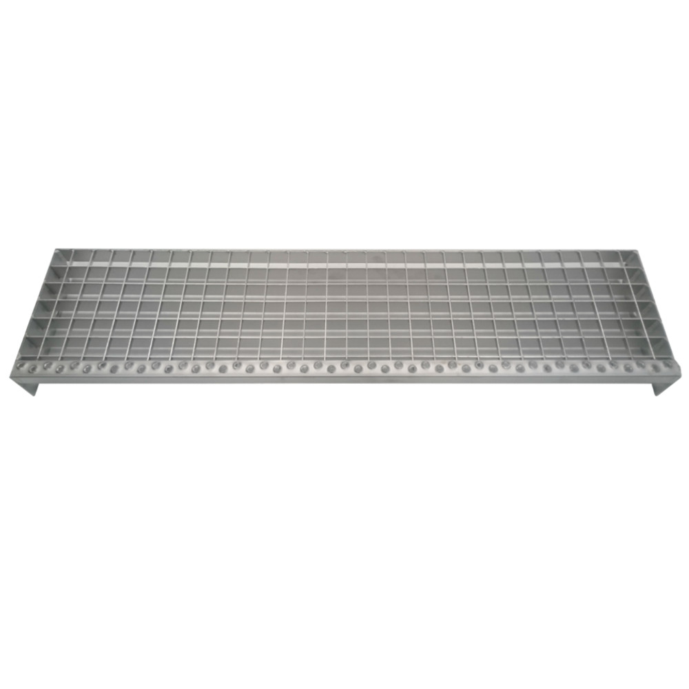 Standaard traptrede 1000x240mm 35 2 rvs for Breedte traptrede